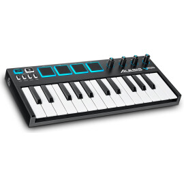 MIDI-клавіатура 25 міні клав.+ 4 педа  ALESIS V Mini  PC/Mac