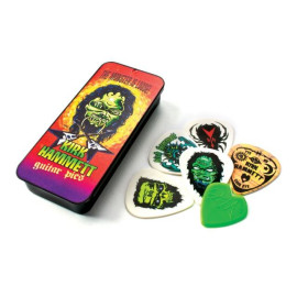Набір медіаторів DUNLOP KH01T088 KIRK HAMMETT SIGNATURE PICK TIN MONSTER LOOSE 0.88