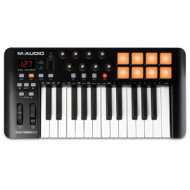 MIDI-клавіатура 25 клав.  M-AUDIO Oxygen 25 IV  PC/Mac