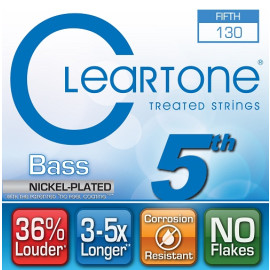 Струна5 для 5-струн. бас гітари CLEARTONE 64-130 BASS NICKEL-PLATED 5TH STRING 130
