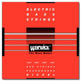 Струни для 4-струн. бас-гітари WARWICK 46200 NICKEL ELECTRIC BASS M4 (45-105)