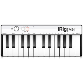 MIDI-клавіатура 37 клав. IK MULTIMEDIA iRIG KEYS MINI iOS/PC/Mac/Android