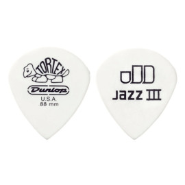 Медіатор DUNLOP 478P1.0 TORTEX WHITE JAZZ III PLAYERS PACK 1.0