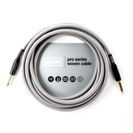 Інструментальний кабель DUNLOP MXR DCIW12 Pro Series Woven Instrument Cable 12ft