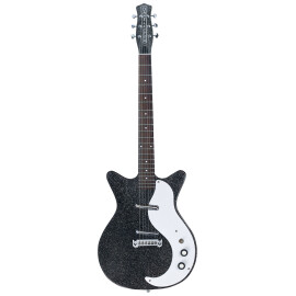 Електрогітара DANELECTRO 59MJ Black Metal Flake